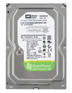 Жесткий диск Western Digital AV-GP 320GB 5400prm 8MB WD3200AVVS 3.5 SATAII Refurbished