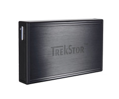 "Жесткий диск TrekStor DataStation Pocket t.ub 320GB TS25-320TUB 2.5"" USB 2.0 External Black Refurbished"