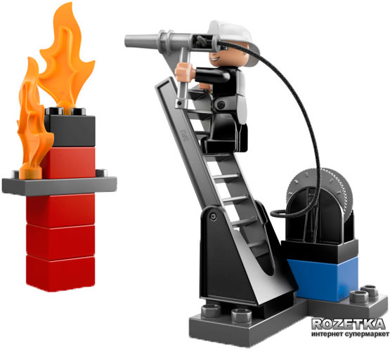 lego duplo fire station 6168 instructions