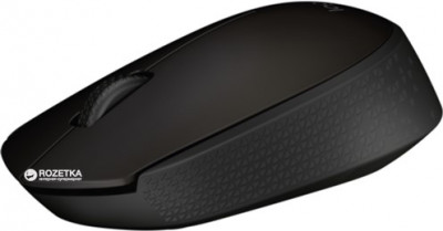 Миша Logitech B170 Wireless Black (910-004798)