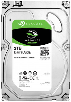 Жесткий диск Seagate BarraCuda HDD 2TB 7200rpm 256MB ST2000DM008 3.5 SATA III