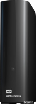 "Жесткий диск Western Digital Elements Desktop 6TB WDBWLG0060HBK-EESN 3.5"" USB 3.0 External Black"