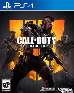 Игра Call of Duty: Black Ops 4 для PS4 (Blu-ray диск, Russian version)