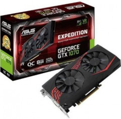 GeForce GTX1070 8192Mb Asus Dual Expedition OC (EX-GTX1070-O8G)