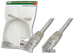 Патч-корд Digitus Professional CAT5e UTP AWG 26/7 5м (DK-1511-050)