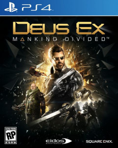 Deus Ex Mankind Divided PS4 русская версия