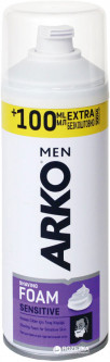 Пена для бритья ARKO Sensitive 200 мл + 100 мл (AR1SF004) (8690506346584)