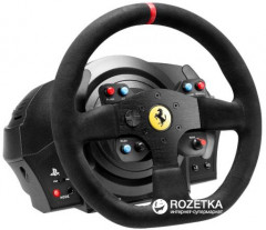Проводной руль Thrustmaster T300 Ferrari Integral RW Alcantara edition PC/PS4/PS3 Black (4160652)