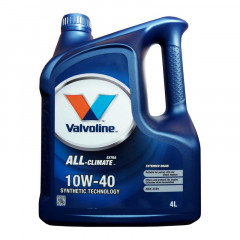 Моторное масло Valvoline ALL-climate EXTRA 10W-40 4 л (872780)