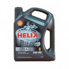 Моторное масло Shell Helix Ultra 5W-40 4 л (j3)
