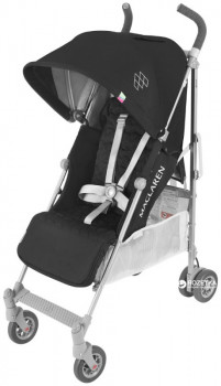 Коляска прогулянкова Maclaren Quest Black/Silver (WD1G040092)