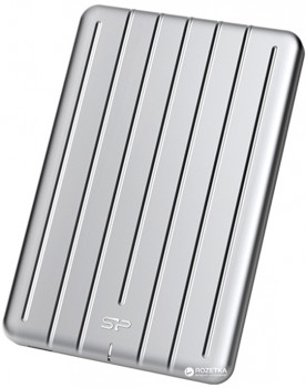 Silicon Power Bolt B75 256GB 2.5 USB 3.1 Silver (SP256GBPSDB75SCS) External