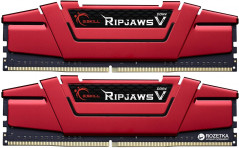 Оперативная память G.Skill DDR4-2800 16384MB PC4-22400 (Kit of 2x8192) Ripjaws V Red (F4-2800C15D-16GVRB)