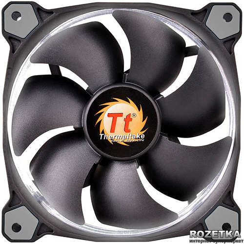 Кулер Thermaltake Riing 14 White LED (CL-F039-PL14WT-A)