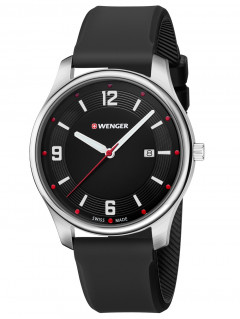 Часы Wenger 01.1441.109 City Active Herren 43mm 3ATM