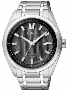 Часы Citizen AW1240-57E Eco-Drive Super-Titanium Herren 42mm 10ATM