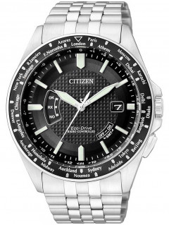 Часы Citizen CB0021-57E Eco-Drive Promaster-Land Funk-Worldtimer 44mm 20ATM