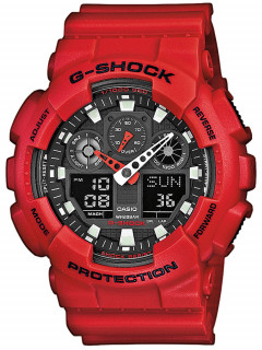 Часы CASIO GA-100B-4AER G-SHOCK 51mm 20ATM