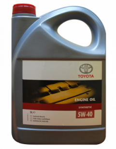 Моторное масло Toyota 5W-40 Synthetic 5л 08880-80835