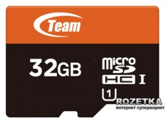 Team MicroSDHC UHS-1 32GB + SD-adapter(TUSDH32GUHS03)