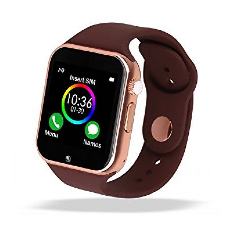 Rozetka.ua   Умные часы Smart Watch A1 Gold Brown (SWA1GBR). Цена ... 4560d72efea