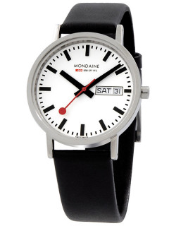 Часы Mondaine A667.30314.11SBB New Classic Day Date Unisex 36 mm