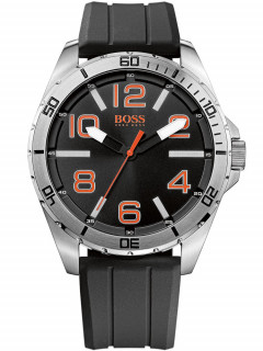 Часы BOSS ORANGE 1512943 Herren schwarz silber orange 48 mm