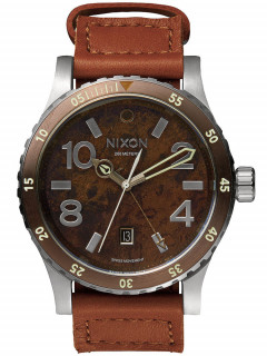 Часы NIXON A269-1958 Diplomat Dark Copper Saddle 45mm 20ATM