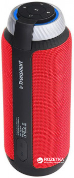 Акустична система Tronsmart Element T6 Portable Bluetooth Speaker Red (FSH55580) + Чохол для акустики Tronsmart Element T6 Carrying Case Black (71286) в подарунок!