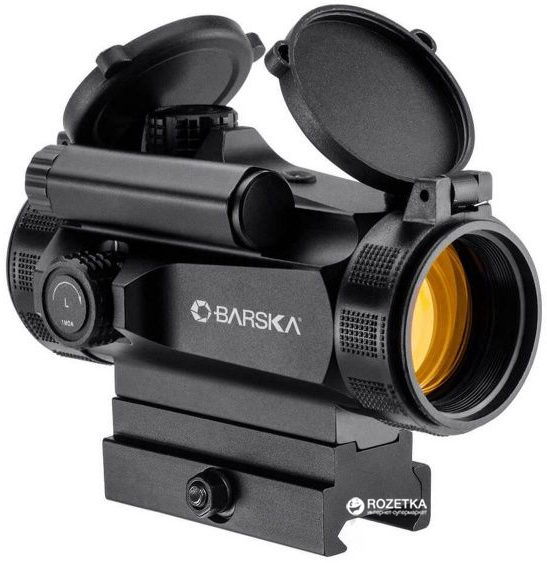 Коллиматорный прицел Barska AR-X Red Dot 1x30mm HQ (Weaver/Picatinny) (925762)
