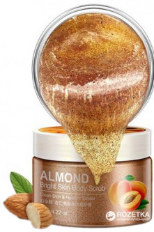 Cкраб для тела Bioaqua Almond Bright Skin Body Scrub 120 г (6947790778655)