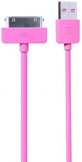 Кабель Remax Light Cable For iPhone 4 1m Pink