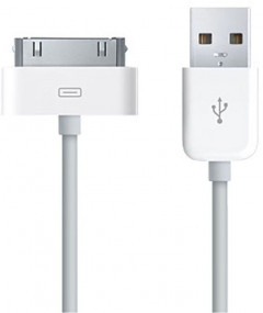 Кабель GOLF GC-01a High Speed iPhone4 cable 1.5m White