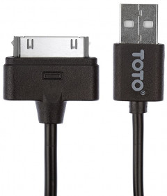 Кабель TOTO TKG-15 High speed USB cable iPhone4 0.9m Black