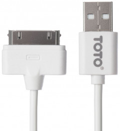Кабель TOTO TKG-22 High speed USB cable iPhone4 1.5m White