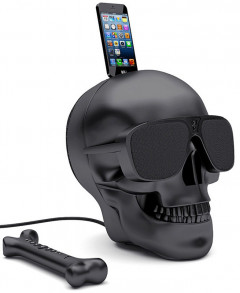 Мультимедийная акустика Jarre Technologies AeroSkull HD+ Matt Black