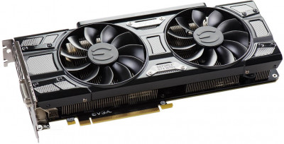 EVGA PCI-Ex GeForce GTX 1070 Ti SC Gaming 8GB GDDR5 (256bit) (1607/8008) (DVI, HDMI, 3 x DisplayPort) (08G-P4-5671-KR)