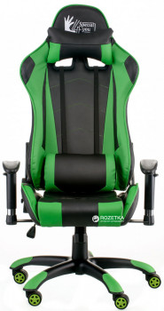 Крісло Special4You ExtremeRace Black/Green (4744145015623)