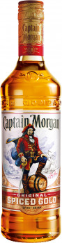 Ромовий напій Captain Morgan Spiced Gold 0.7 л 35% (5000299223017)