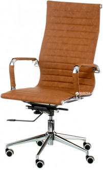 Кресло Special4You Solano Artleather Light Brown (E5777)