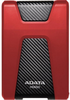 Жесткий диск A-Data HD650 2TB Red (AHD650-2TU31-CRD)