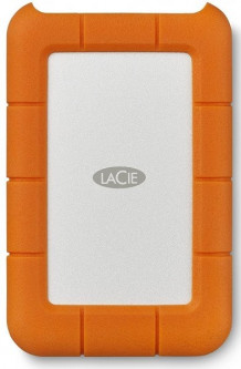 Жесткий диск LaCie Rugged USB-C 2000GB Orange (STFR2000800)