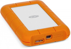 Жесткий диск LaCie Rugged Thunderbolt USB3 1000GB Orange (STEV1000400)
