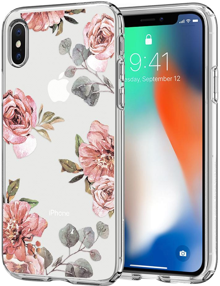 Панель Spigen для iPhone X/Xs Liquid Crystal Aquarelle Primrose (057CS22785)