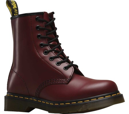 Женские ботинки Dr. Martens 1460 8-Eye Boot Cherry Red Smooth Leather 43 ( 196ffb744dccd