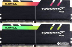 Оперативная память G.Skill DDR4-3200 16384MB PC4-25600 (Kit of 2x8192) Trident Z RGB (F4-3200C14D-16GTZR)