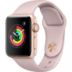 Apple Watch Series 3 GPS 42mm Gold Aluminum with Pink Sand Sport Band Gold (MQL22)