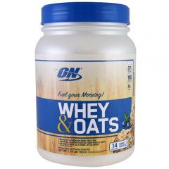 Протеин Optimum Nutrition Whey&Oats 700 г Шоколад (4384300698)