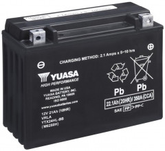 Мото аккумулятор Yuasa 12V 22.1Ah High Performance MF VRLA Battery YTX24HL-BS (сухозаряжений) (YTX24HL-BS)