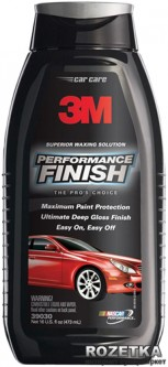 Автополироль 3M Performance Finish 473 мл (39030)